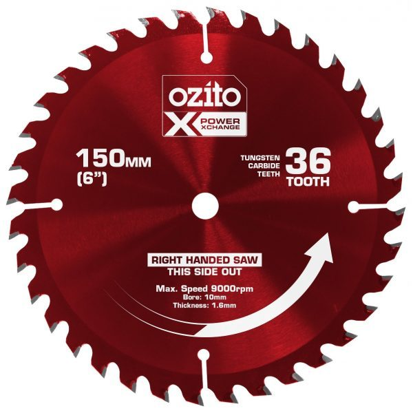 150mm 36 tooth circular saw blade ozito 150mm 36 tooth circular saw blade keyboard keysfo Choice Image