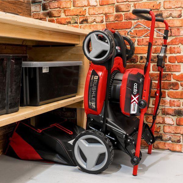 2 X 18V Brushless 5 In 1 Steel Deck Mower Kit 3 0Ah