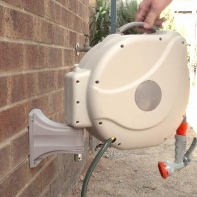 How to Install a Garden Hose Reel