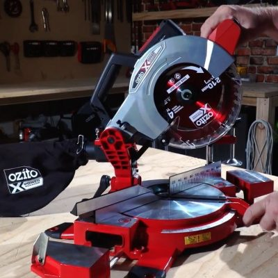 Discover the Power of the Cordless 210mm Compound Mitre Saw