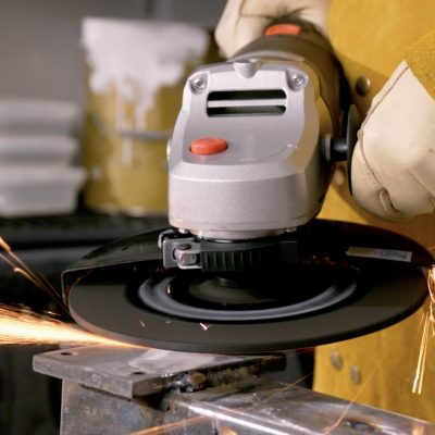 Upsize with the 230mm (9″) Angle Grinder