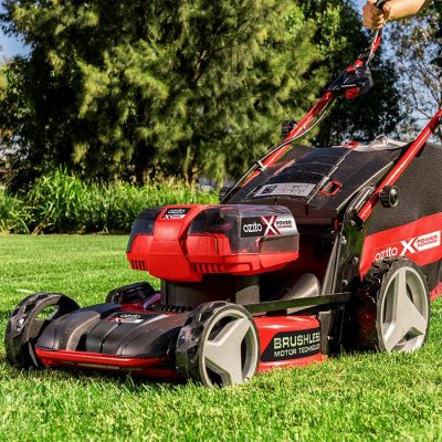 Transform your Lawn with the 18V Brushless 5 in 1 Steel Deck Mower Skin