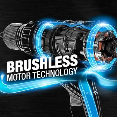 Power Up with the Benefits of Brushless