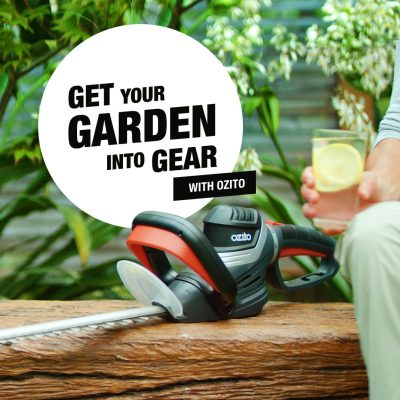 Get your Garden into Gear with Ozito