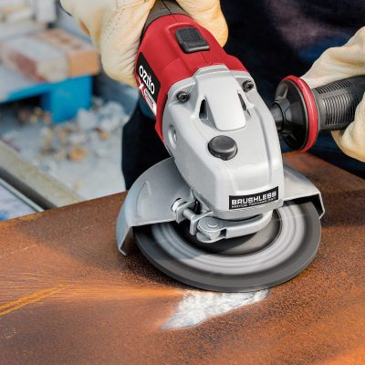 NEW 18V Brushless Angle Grinder – More Power & Runtime