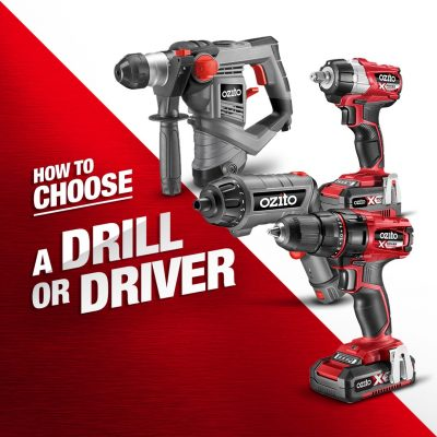 How to Choose a Drill or Driver