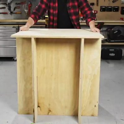 DIY Flat Pack Workbench